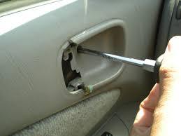 1998 Toyota Corolla Interior Door Handle Replace Interior Door Handle 1998 2002 Toyota Corolla
