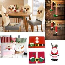 Santa Chair Covers Christmas Chair Covers Ebay