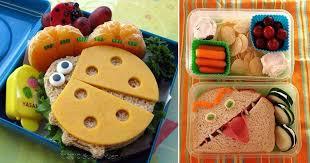 cuisine ludique des sandwiches pour les enfants c est moi qui l ai fait en cours