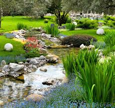what are the different options for river rock landscaping