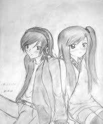 sad couple pencil sketch anime sad couple drawing drawing art