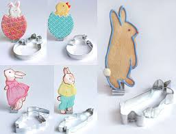 rabbit cookies bunny cookie cutters foodiggity