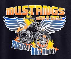 mustangs bar and grill south beloit fork in the road live at mustang s tuesday bike