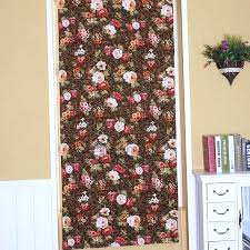 what is floral pattern in french best floral pattern flat shaped french door roman shade