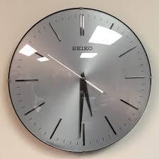 silent wall clocks seiko quiet wall clocks