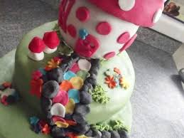 fairy toadstool cake birthday cakecentral