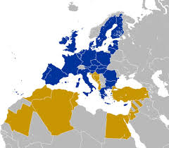 Map Of The Mediterranean Union For The Mediterranean Time For Parliaments To Play Their