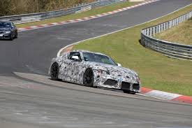How Much Does The Toyota Ft1 Cost New 2018 Toyota Supra Caught Testing On Track Auto Express