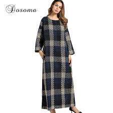 wool dress casual wool dress winter thicken maxi abaya robe gowns sleeve