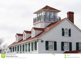Dormers Roof Dormers On Red Roof With Green Shutters Stock Photo Image 31449690