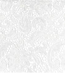 white lace bridal collections embroidered heavy lace white fabric joann