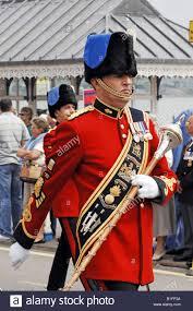 British Soldier Halloween Costume Band Master British Army Cerimonial Red Tunics March