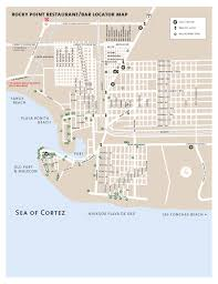 Puerto Vallarta Mexico Map by Puerto Vallarta Rocky Point Real Estate Beachfront Condos Homes