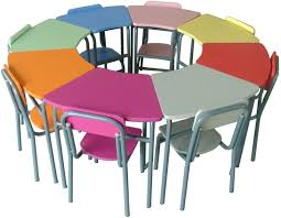 Kids Round Table And Chairs China Plastic Kids Round Table And 4 Chairs For Kindergarten