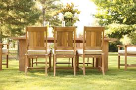 the silver lining in teak furniture summer classics