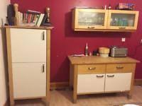 free standing kitchen units home u0026 garden furniture for sale