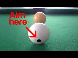 How Long Is A Pool Table Simple Spin Shots Tutorial Youtube