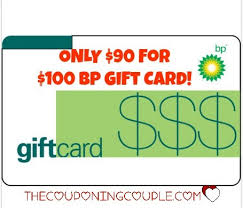 gas gift cards wow only 90 for a 100 bp gas gift card
