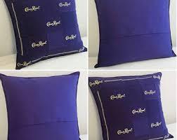 crown royal gift set crown royal pillow shams set of 2 made to order you choose