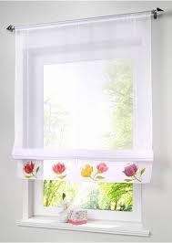 rideau pour cuisine stores romains rustiques cuisine rideaux fenêtre dépistage café