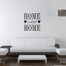 Stickers Pour Chambre Adulte by Sticker Citation Home Sweet Home Amoureux Future Maison Bonnes