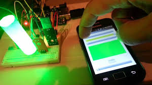 rgb led with arduino and android bluetooth youtube