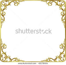 vector images illustrations and cliparts corner gold vintage