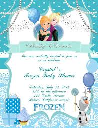 frozen invitation ideas template frozen themed birthday