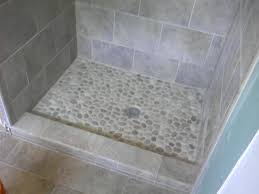 20 shower floor tile designs river rock can make your bathroom