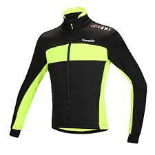 warm cycling jacket santic cycling jacket men s bike jacket top winter cotton bike wear