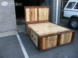 Crate Bed Frame Pallet Queen Size Bed U2022 1001 Pallets