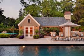 pool house plans with bathroom exciting pool house plans with living quarters contemporary ideas