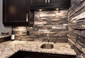 Tile Backsplash Kitchen Backsplash Pictures by Manufactured Rough Stone Veener Tile Backsplash Kitchen White