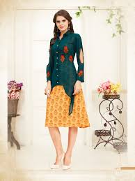 Meem Online - meem vol 1 101 106 georgette casual wear kurti buy online from surat