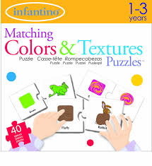 Matching Colors Amazon Com Infantino Matching Colors And Textures Puzzles