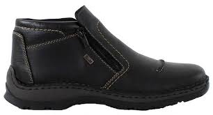 rieker s boots uk rieker mens black boots shoes ankle 05372 00 at bobbykemp co uk