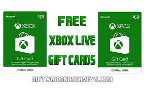 xbox live gift card free xbox gift cards no survey new codes list 2018