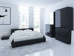 White Bedrooms With Pops Of Color Decorative Black And Bedroom - Elegant dark wood bedroom sets home