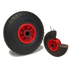 chambre à air increvable roue pneumatique noir corps plastique ø 260 x 85 alé 25