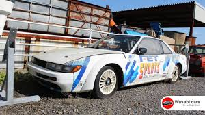 japanese race cars forgotten s13 nissan silvia former grip race car wasting away