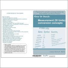 how to teach measurement si units conversion concepts u2013 depicta