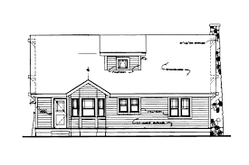 Narrow Lot House Plans Craftsman House Plans Alhambra 41 001 Associated Designs