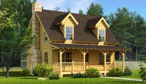 Single Story Country House Plans Valuable 2 Mountain Log Cabin House Plans Home Southern Country