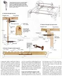 Drafting Table Support Knockdown Drafting Table Plans U2022 Woodarchivist