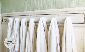 unique towel bars for bathrooms towel