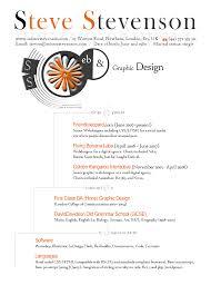Graphic And Web Designer Resume Designing My Curriculum Vitae U2014 Webtalkto