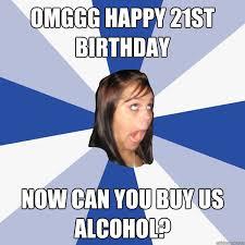 Happy 21 Birthday Meme - 20 funniest happy 21st birthday memes sayingimages com