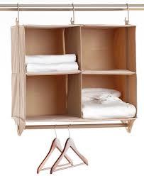 Desk Cubby Organizer Neatfreak Cubby Organizer 4 Shelves With Hanging Bar Closetmax