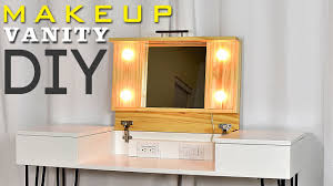 Diy Makeup Vanity Desk Diy Makeup Vanity Desk With Storage Plans Available