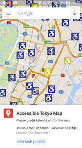 google tokyo wheelchair tokyo google map mobile smartphone u2013 the cup and the road